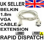 Belkin Pro M - F VGA Monitor SVGA Extension cable 2m
