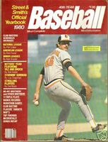 1980 Street & Smith's Baseball Yearbook----Flanagan
