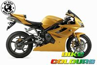 TRIUMPH TOUCH UP PAINT 675 955I ETC SCORCHED YELLOW.