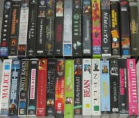 30 x VHS-Sammlung - OOP/Action/Horror/Komödie/Fantasy/SciFi