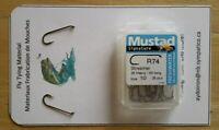 """ Mustad "" #R74-10  Streamer  Fly Hooks..  Fly Tying"