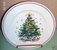 Salem Porcelain Plate Christmas Eve Fine China Tree VGC