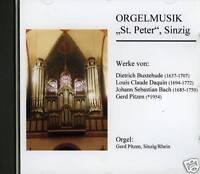 CD Orgelmusik St. Peter Sinzig Kirchenorgel Orgel