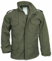 M65 US MILITARY FIELD JACKET ARMY COMBAT OLIVE LINER MENS VINTAGE COAT PARKA TOP