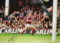 """PAOLO DI CANIO SIGNED WEST HAM UNITED 16""""x12"""" PHOTOGRAPH SEE PROOF"""