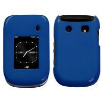 Metallic Blue Hard Case Cover for BlackBerry Style 9670