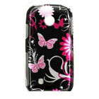 Black Butterfly Hard Case Cover LG Cosmos Touch VN270