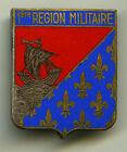 Insigne GU. , EM. / 1 Région Militaire