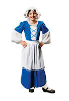 GIRLS POOR TUDOR MAID FANCY DRESS COSTUME SMALL 4 5 6 BOOK WEEK OUTFIT MEDIEVAL