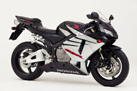 HONDA TOUCH UP PAINT KIT 05 CBR600RR BLACK AND SILVER