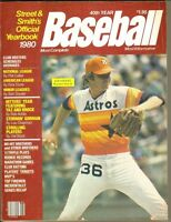 1980 Street & Smith's  Baseball Yearbook----Joe Niekro