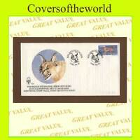 South West Africa 1986 Caracal cat First Day Cover