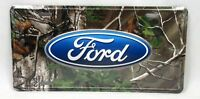 FORD CAMO LICENSE PLATE CAR TRUCK TAG EXPLORER ESCORT F150 MUSTANG SUPER-DUTY