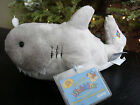 WEBKINZ*Plush/Stuffed/Beanbag*Grey*SHARK*Nov 2009*Unused/Sealed Code Tag*NEW*