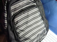 NWT NEW O'neill Generator Backpack Stripes School Travel GREAT DESIGN&COLORS CHS