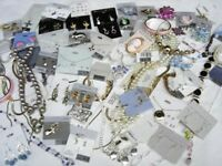 WOMEN MIX FASHION EARRING BRACELET NECKLACE JEWELRY LOT H&M ACCESSORIES