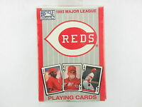 UNOPENED DECK OF 1993 MAJOR LEAGUE BASEBALL CINCINNATI REDS PLAYING CARDS