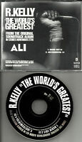 R. KELLY The world's Greatest w/ RARE EDIT & INSTRUMENTAL PROMO DJ CD Single 01