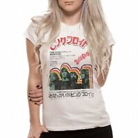*NEW* PINK FLOYD JAPAN OFFICIAL LADIES T SHIRT WHITE SMALL 8-10 MEDIUM 10-12