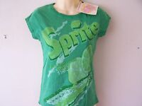 *NEW TAGGED* FAMOUS FOREVER SPRITE GREEN LADIES T SHIRT XS M L
