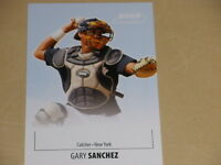 2011 Just Minors JUST Limited 10 Gary Sanchez NEW YORK YANKEES