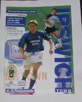 Ipswich Town -v- Bolton Wanderers  1999-2000