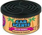 4 x Car, Caravan & Home Long Lasting California Scent Melon Mango Air Fresheners