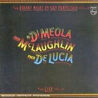 PACO/DI MEOLA,AL/MCLAUGHLIN,JOHN DE LUCIA -FRIDAY NIGHT IN SAN FRANCISCO CD NEUF