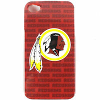 For Apple iPhone 4 S 4S 4G NFL Hard Cover Washington Redskins Case Protector