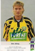 Autogramm - Uwe Jähnig ( Dynamo Dresden )