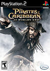 Pirates of the Caribbean: At World's End (Sony PlayStation 2, 2007) w/Booklet