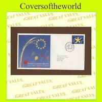 G.B. 1992 Single European Market issue on Royal Mail First Day Cover, Edinburgh
