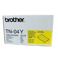 Genuine Brother TN-04Y Yellow Toner Cartridge - TN04Y - New & Sealed