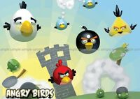 ANGRY BIRDS  POSTER PICTURE WALL ART PRINT A3 AMK2291