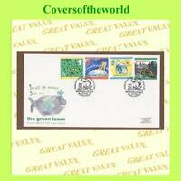 G.B. 1992 The Green Issue set on Royal Mail First Day Cover, Brownsea Is.