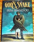 God's Snake by Irini Spanidou Signed First Edition