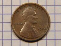 Nice 1909 P V.D.B. Lincoln Wheat Cent Grades Very Fine+ STK# NB2