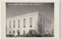Old WEST PLAINS Missouri MO Real Photo RPPC Postcard Howell County Court House