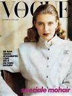 Speciale Mohair supplemento al 438 Vogue Italia del Settembre 1986