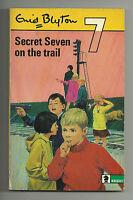 ENID BLYTON - SECRET SEVEN ON THE TRAIL VINTAGE P/B 1971