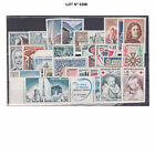 005398 LOT FRANCE ANNEE COMPLETE 1965 - 33 TIMBRES Neufs N**