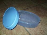 Tupperware Box Swing Junge Welle 0,5 l oval Vorratsbehä