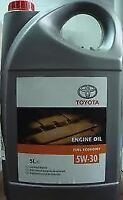 Genuine 1 Litre Toyota 5W30 Synthetic Blend Motor Oil