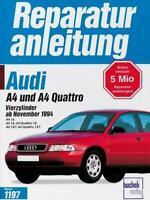 Reparaturanleitung Nr. 1197 Audi A4 /A 4 Quattro Avant Vierzylinder ab 1994