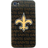 For Apple iPhone 4 S 4S 4G NFL Hard Cover New Orleans Saints Faceplate Case