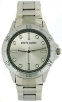 Pierre Cardin Silver Dial Gents 2 Tone Silver Metal Bracelet Dress Watch PCG11S