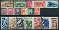 Lot 18 timbres SARRE Année 1949 Neuf*/O TB A VOIR W1217
