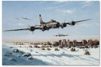 """Wild Children"" Heinz Krebs WW II B-17 Co-Signed Print"