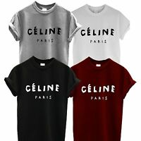 **CELINE PARIS T SHIRT RIHANNA TOUR HYPE GEEK TOP comme fuckdown dope hipster **