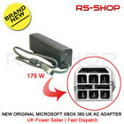 New Original Microsoft Xbox 360 UK AC Adapter 'Brick' 175W Power Supply